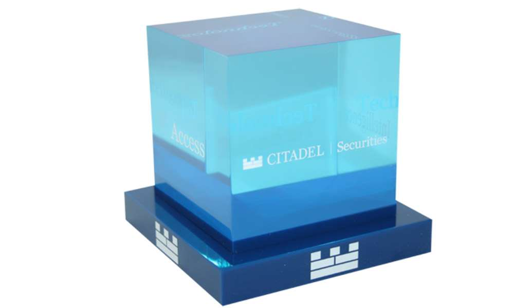 Citadel Securities Core Values Display