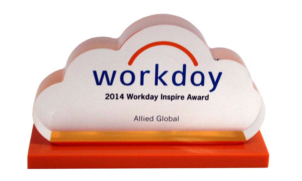 Workday Customer Recognition Award