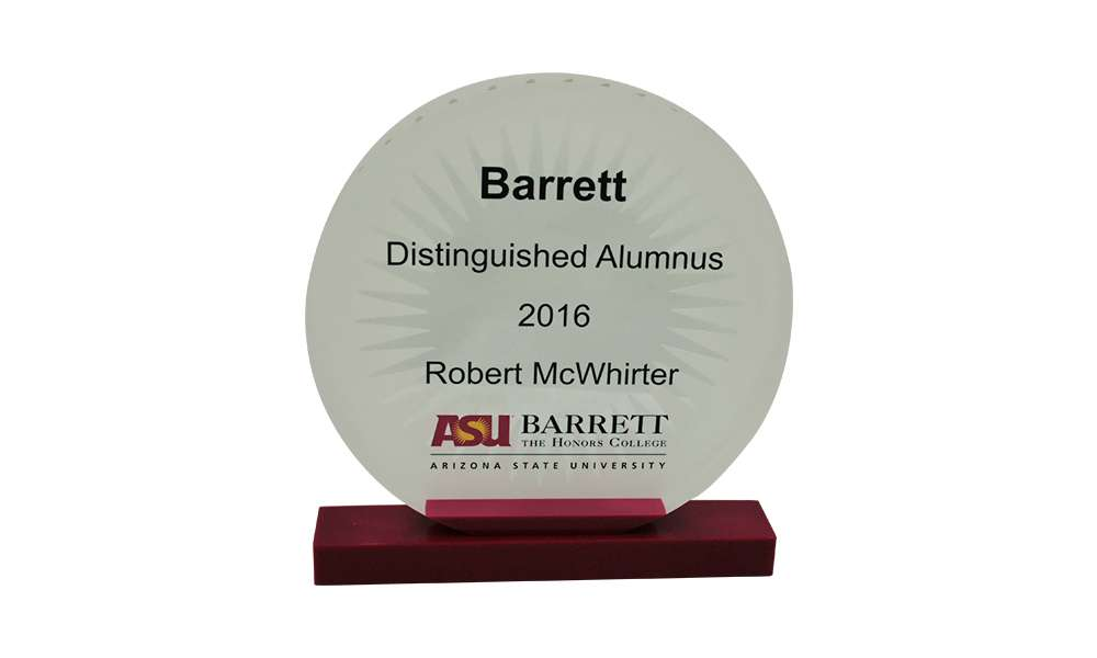 Arizona State University Distinguished Alumnus Award