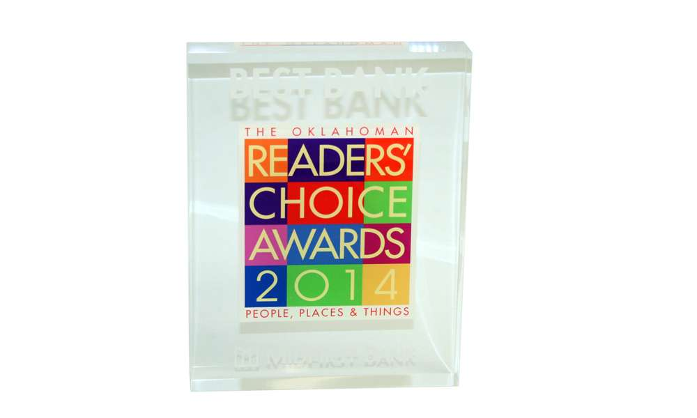 Readers' Choice Award Commemorative