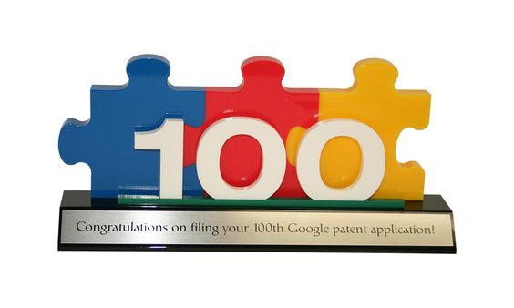 Google Custom Acrylic Patent Commemorative