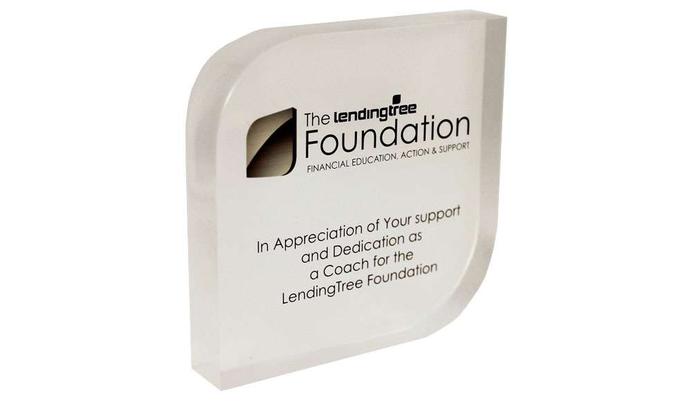 LendingTree Foundation Recognition Award