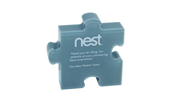 Nest Acrylic Patent Commemorative
