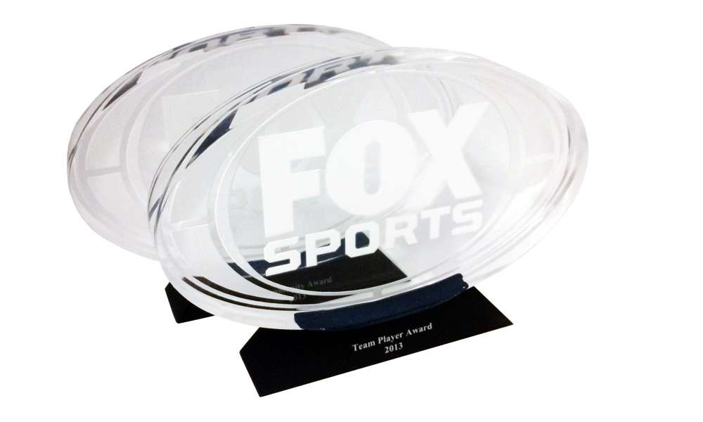 Fox Sports Custom Acrylic Team Awards