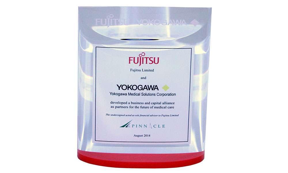 Custom Lucite for Fujitsu-Yokogawa Joint Venture