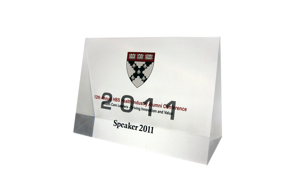 Harvard Business School Speaker Gift