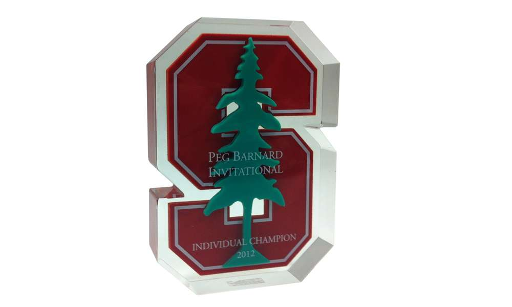 Stanford University Golf Custom Acrylic Award