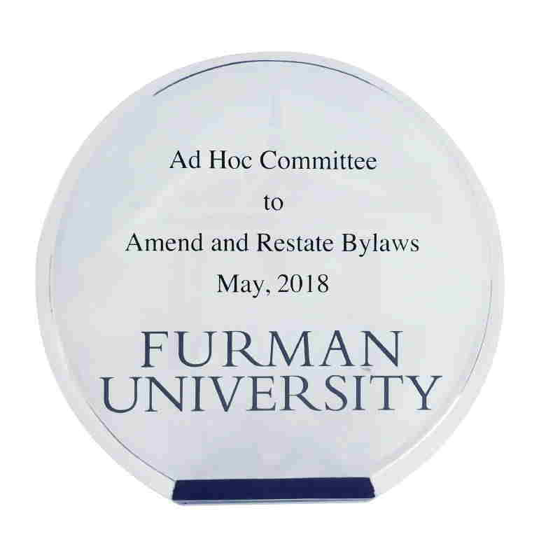 Furman University Committee Service Award