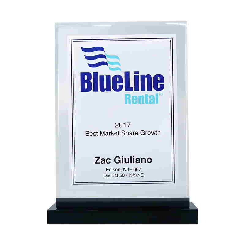 Custom Acrylic Sales Achievement Award
