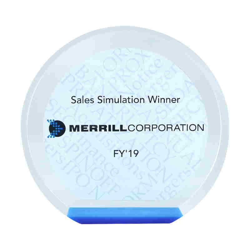 Sales Simulation Award