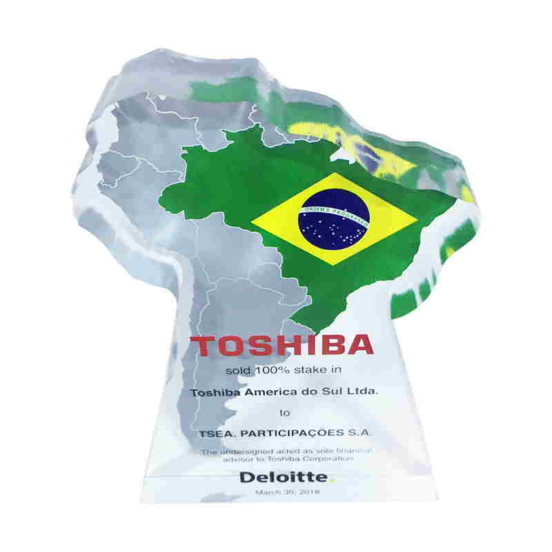 Brazil-Themed Crystal Deal Toy