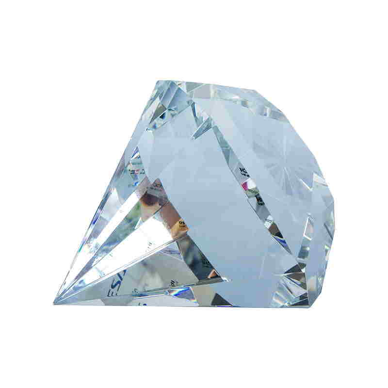Diamond-Shaped Crystal Tombstone