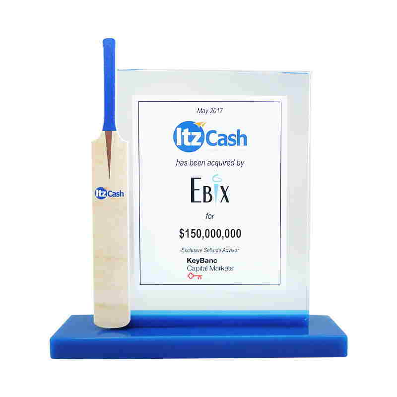 Cricket-Themed Fintech Tombstone