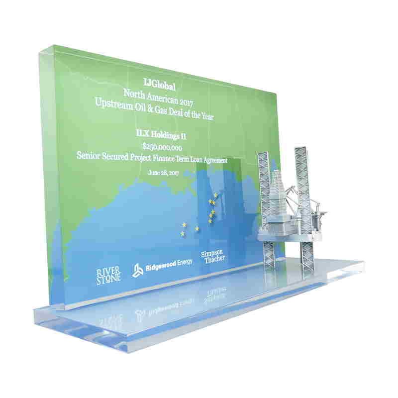 Custom Crystal for Upstream Oil & Gas Deal of The Year