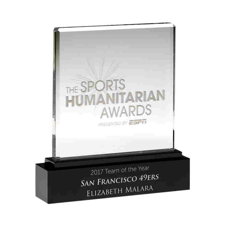Crystal ESPN Sports Humanitarian Award