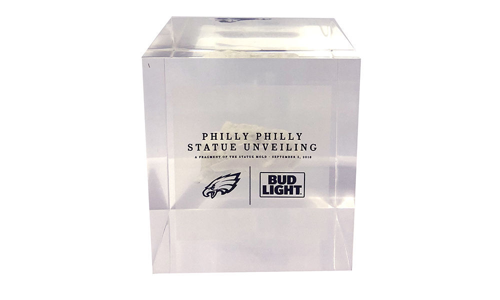 "Philadelphia Eagles ""Philly Philly"" Lucite Commemorative"