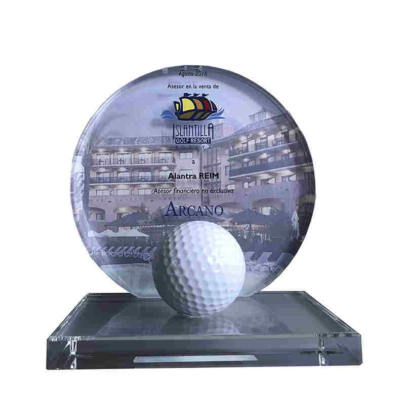 Golf-Themed Crystal Deal Toy