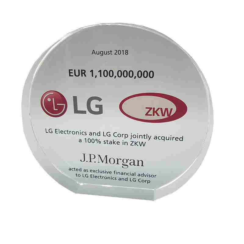 LG-ZKW Deal Tombstone