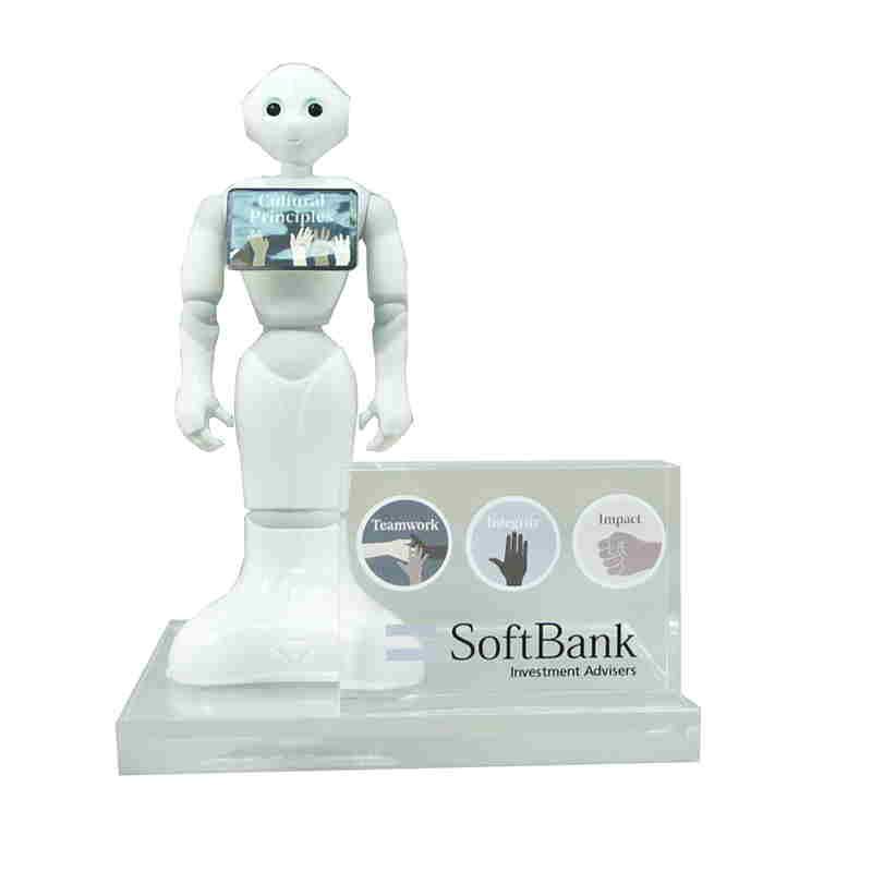 SoftBank Investment Advisrs Values Display