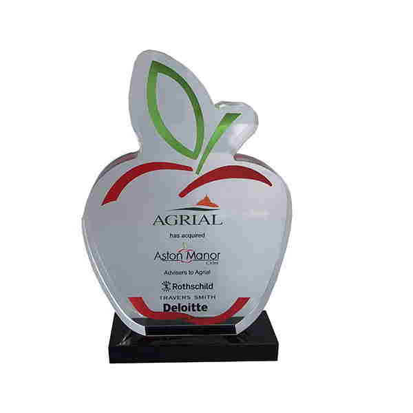 Apple-Themed Crystal Deal Toy
