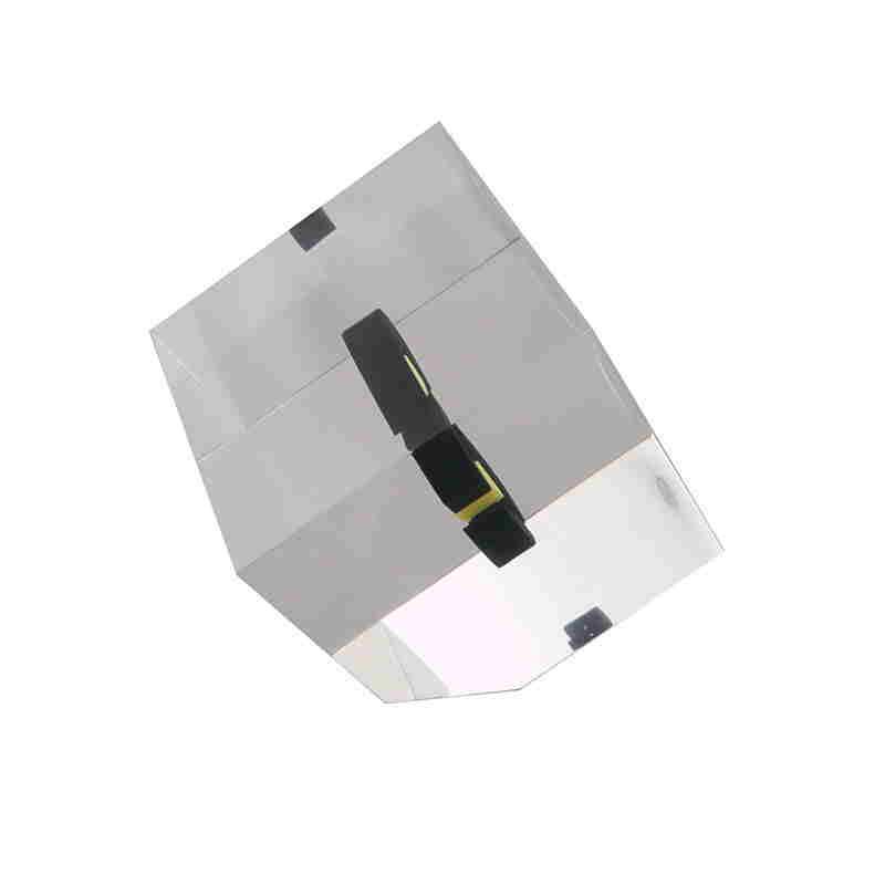 Cut-Corner Cube Lucite