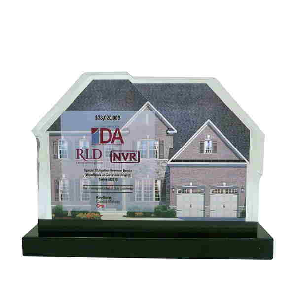 House-Themed Lucite Deal Toy