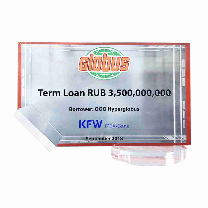 Crystal Construction Loan Deal Toy