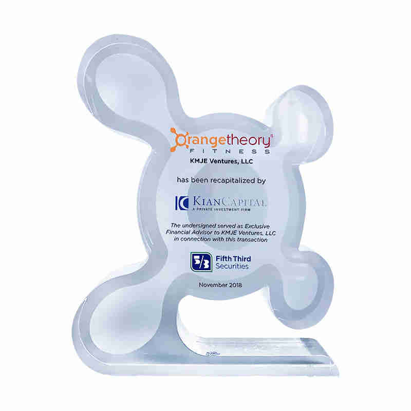 Crystal Orangetheory Fitness Deal Toy