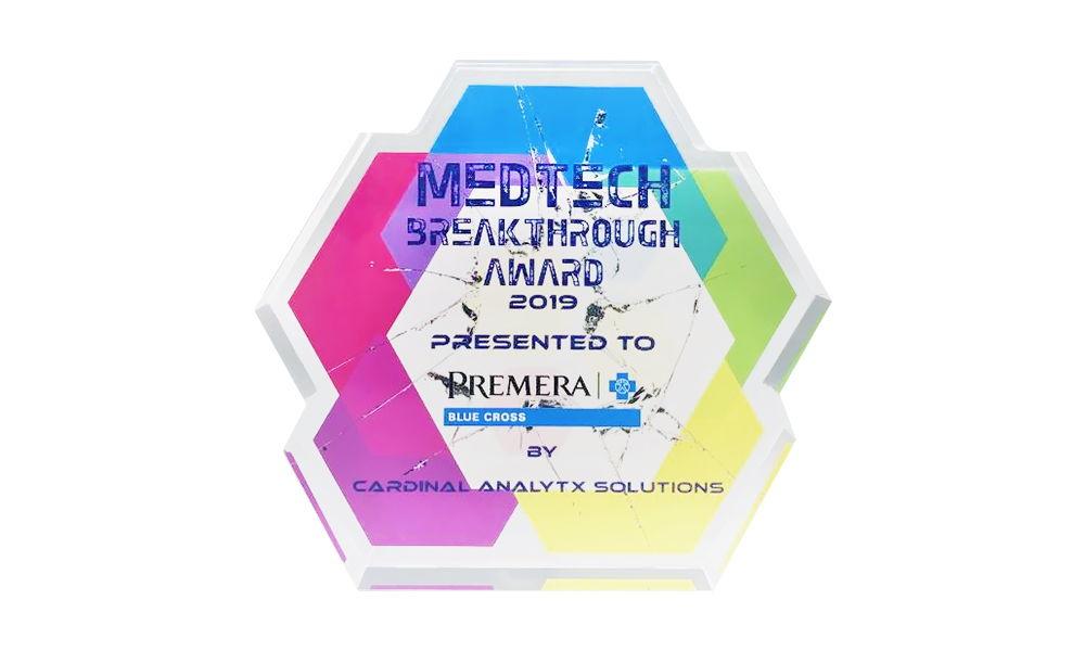 "Custom Crystal ""Breakthrough"" Award"