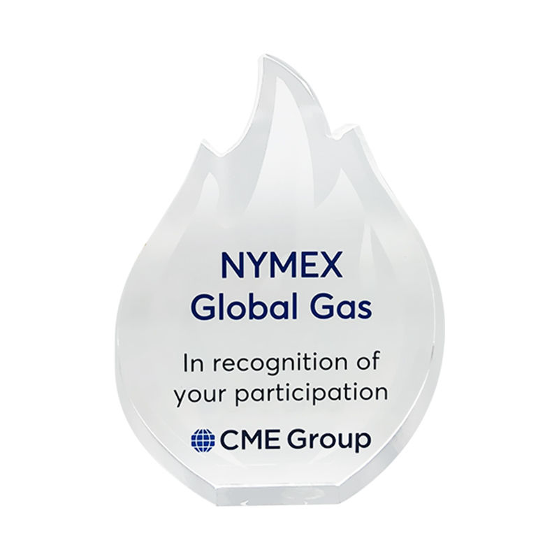 Flame-Themed Natural Gas Industry Award