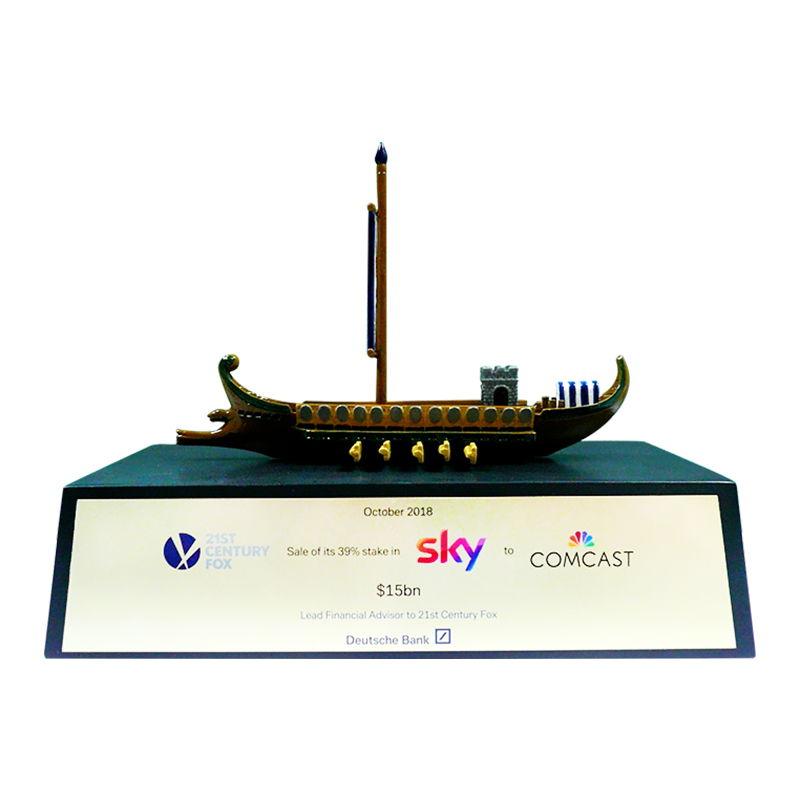 Comcast-Sky Financial Tombstone