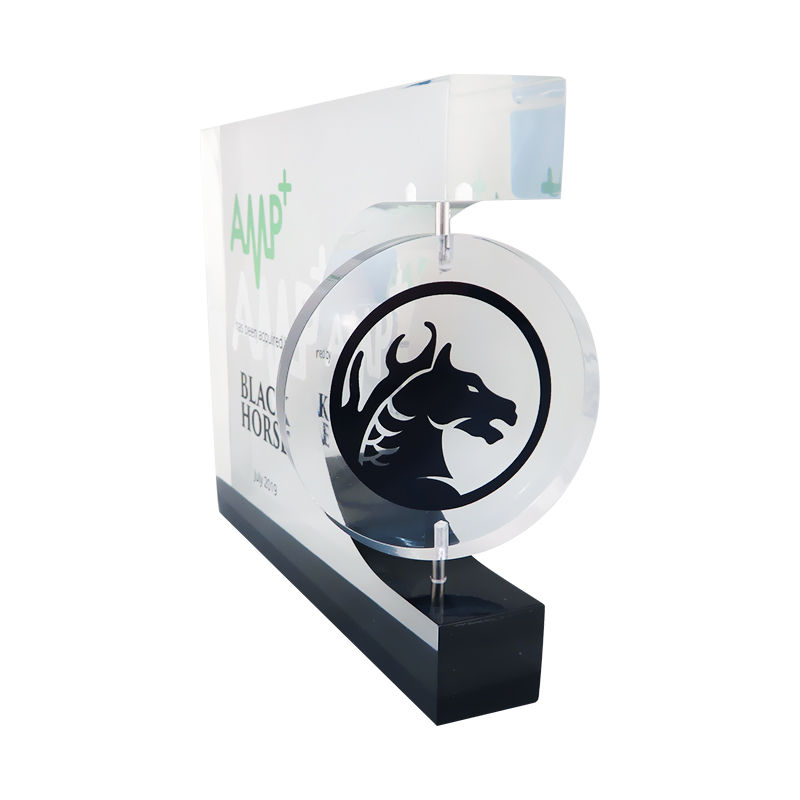 Lucite Deal Toy with Spinning Logo
