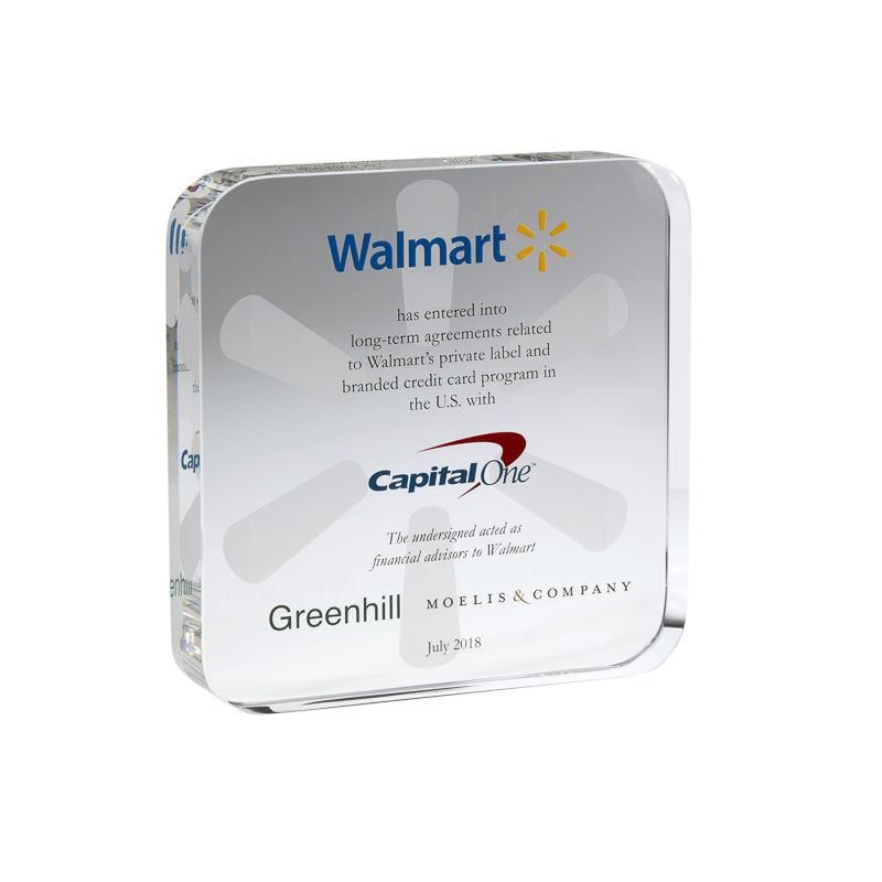 Walmart-Capital One Joint Venture Commemorative