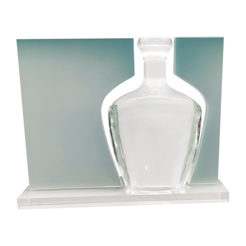 Glass Packaging-Themed Deal Tombstone (Back View)