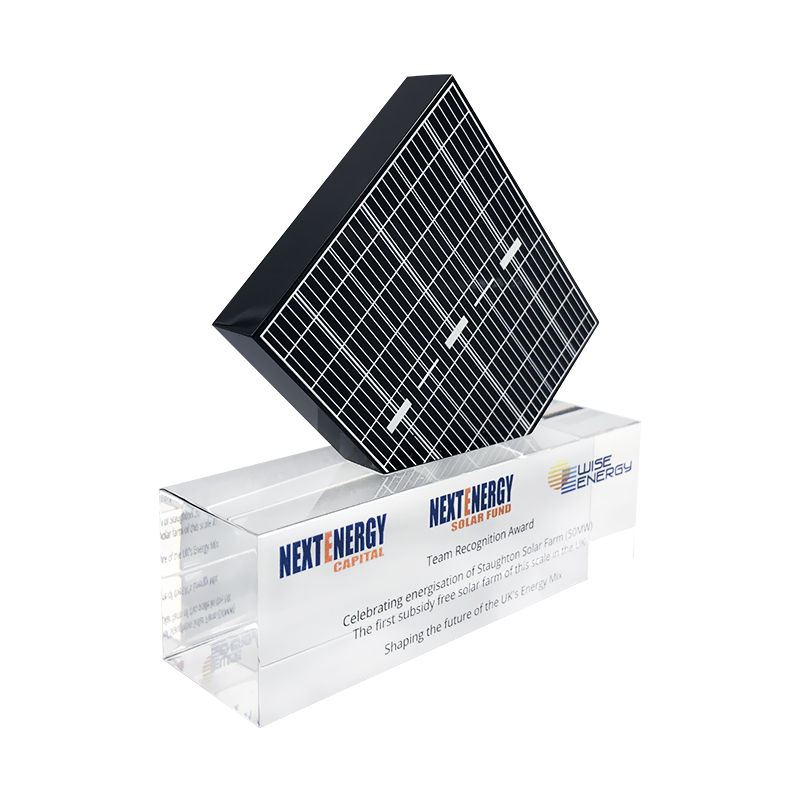 Solar Panel-Themed Team Award