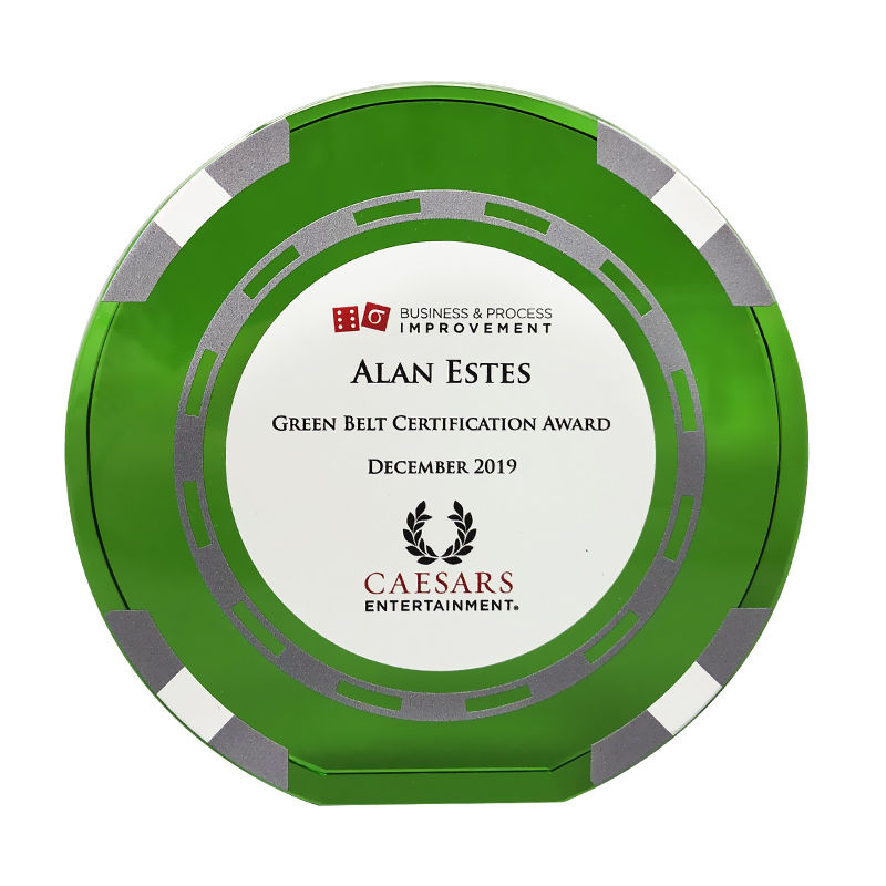 Gambling Industry Custom Recognition Award