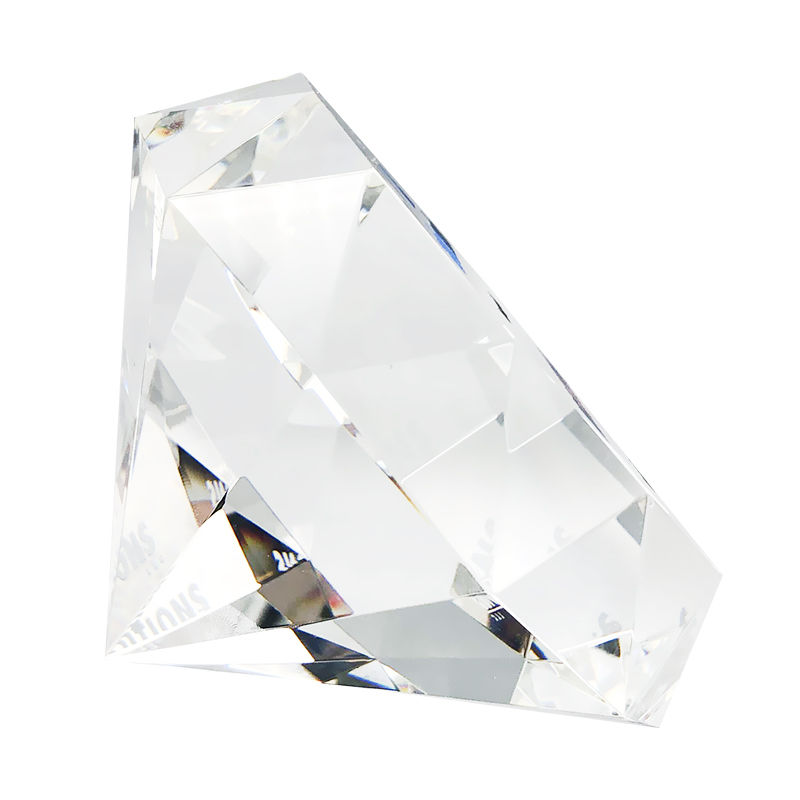 Diamond-Shaped Deal Tombstone (Side View)