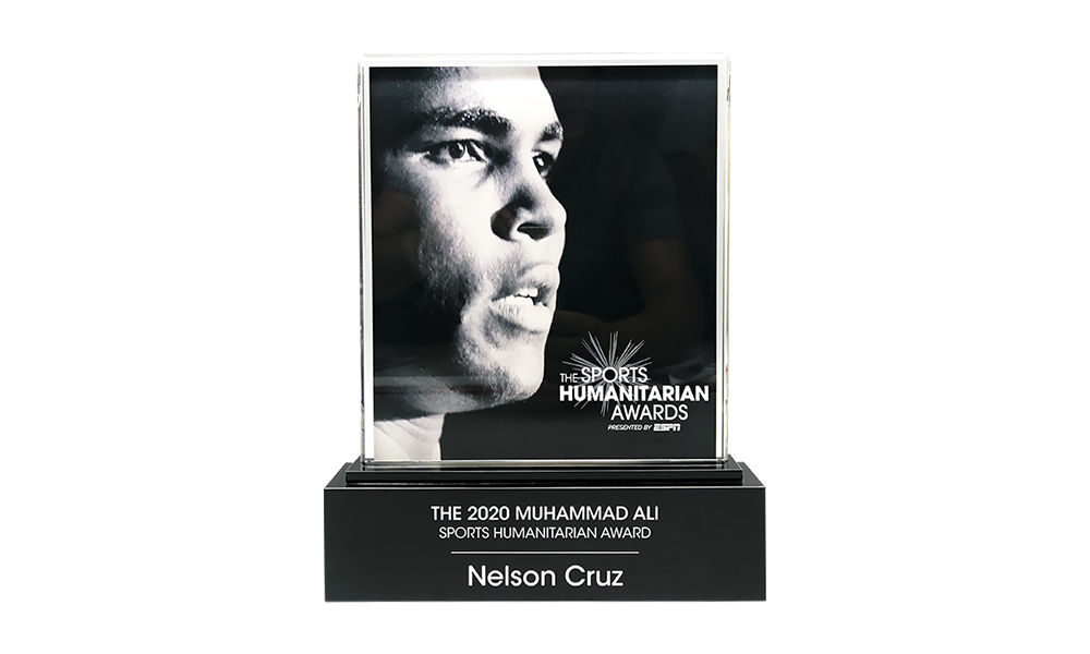 Nelson Cruz among Honorees at Inspiring ESPY Telecast - image 20AKL1841_mod on https://prestigecustomawards.com