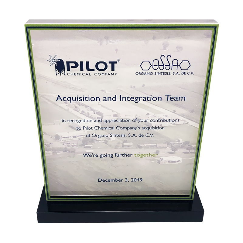 Crystal Acquisition and Integration Award