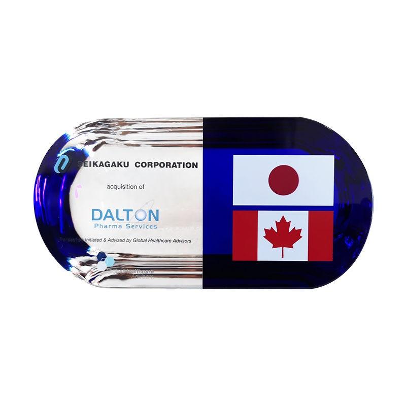 Flag-Themed Custom Crystal Pill