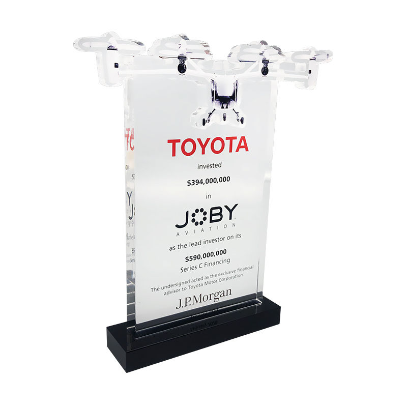 Flying Taxi-Themed Deal Toy