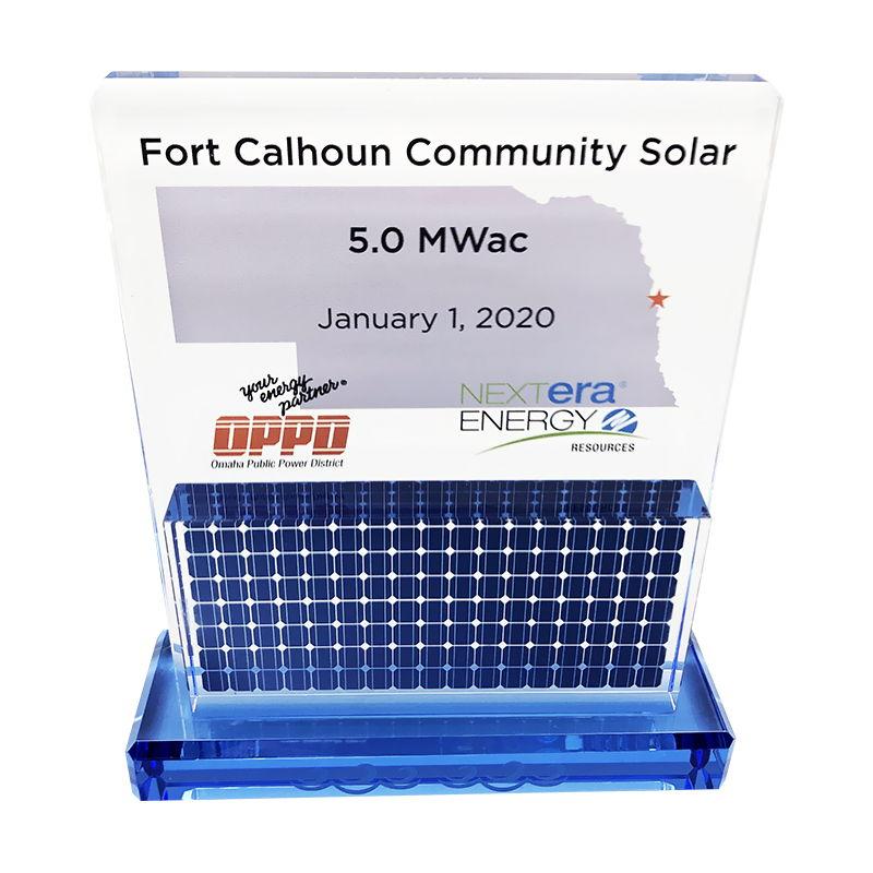 Solar Facility Opening Commemorative