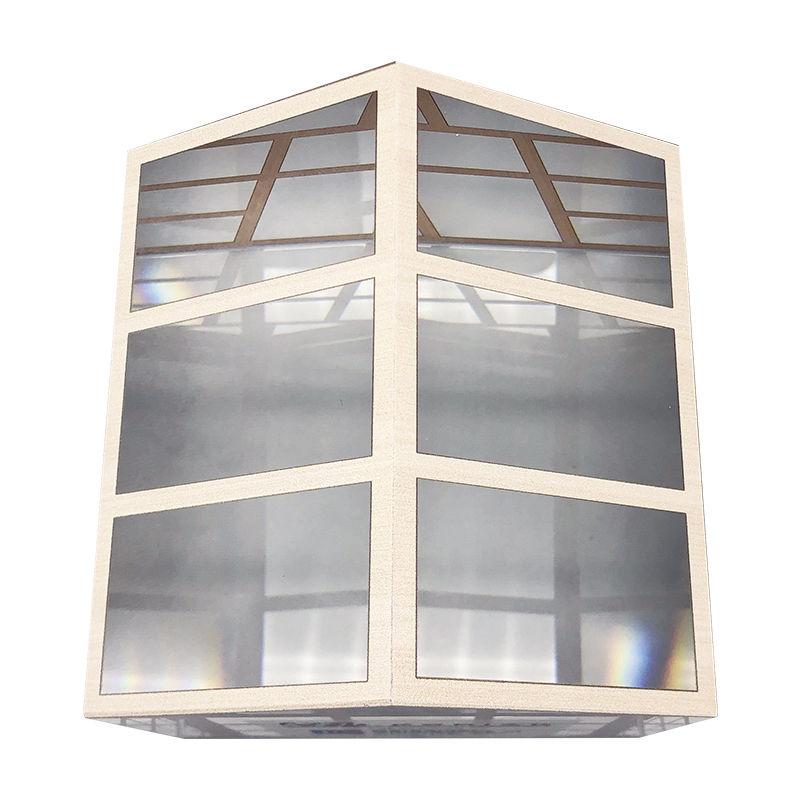 House-Themed Custom Crystal (Top View)