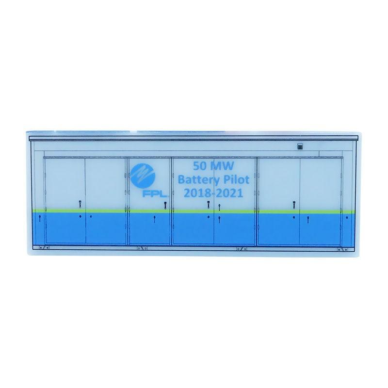 Storage Battery-Themed Custom Acrylic
