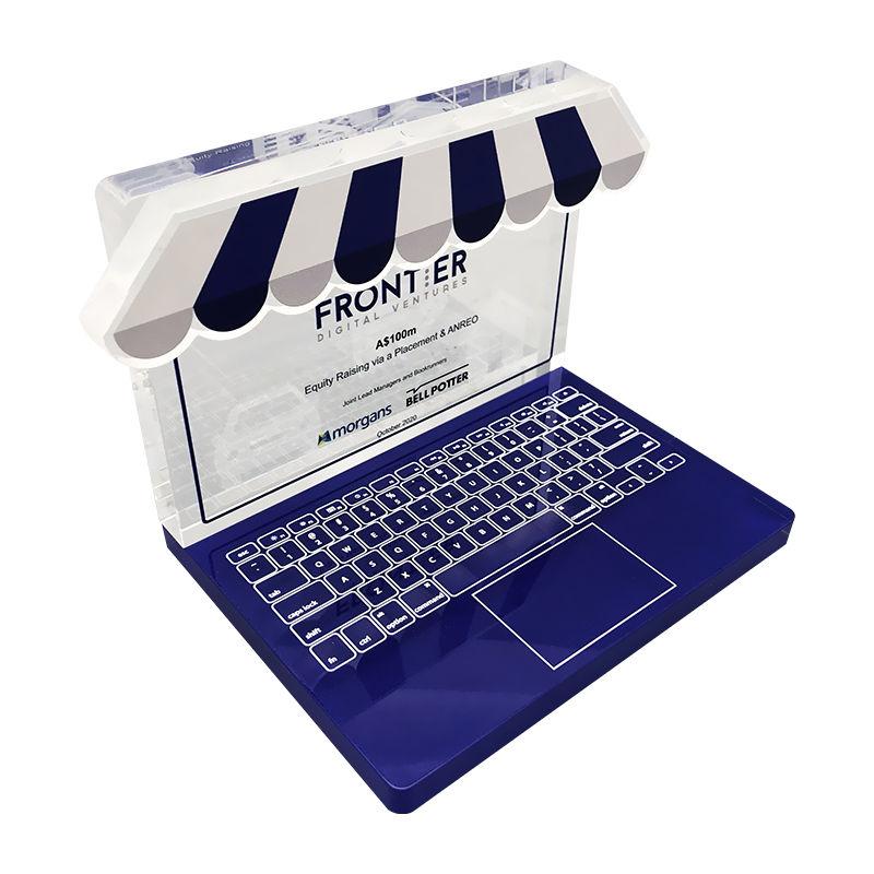 Keyboard-Themed Crystal Deal Tombstone