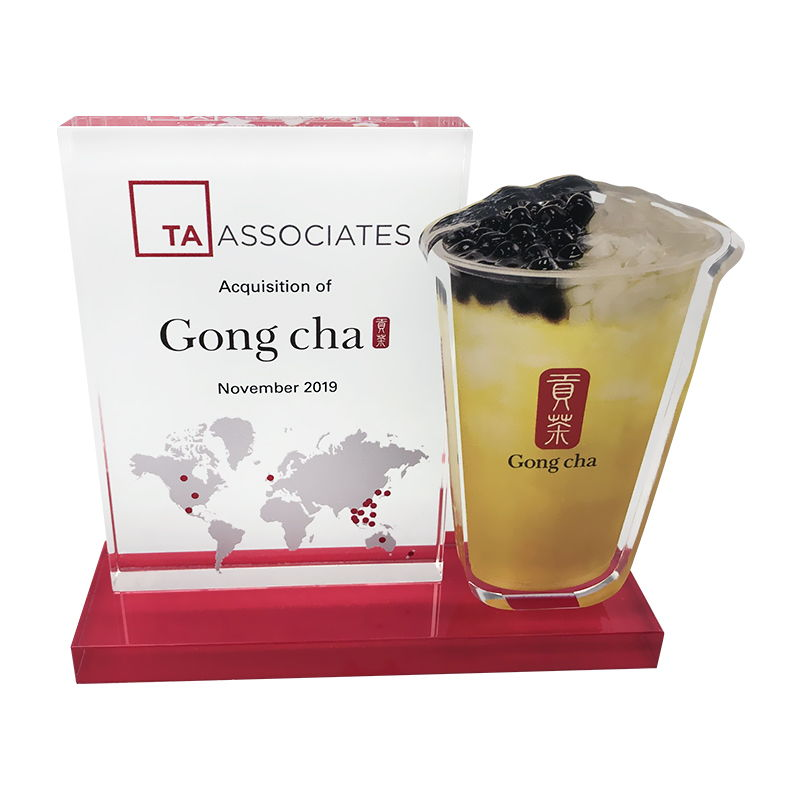 Bubble Tea-Themed Deal Tombstone