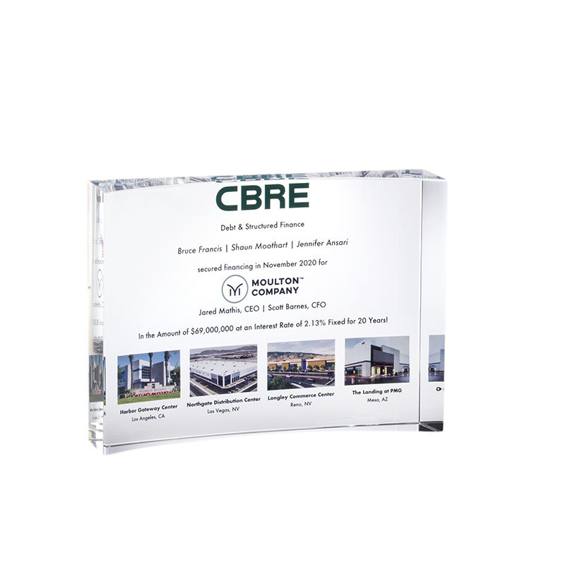 Custom Crystal for Real Estate Financing