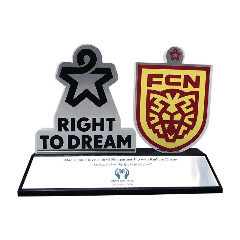 Right to Dream Investment Commemorative