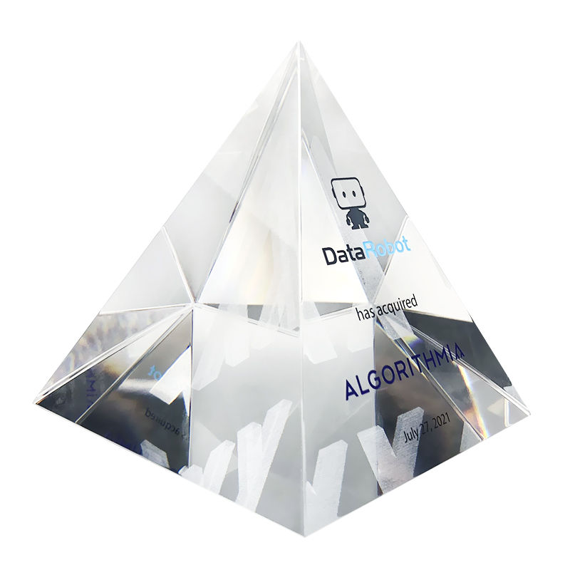 Pyramid-Shaped Machine Learning Deal Toy