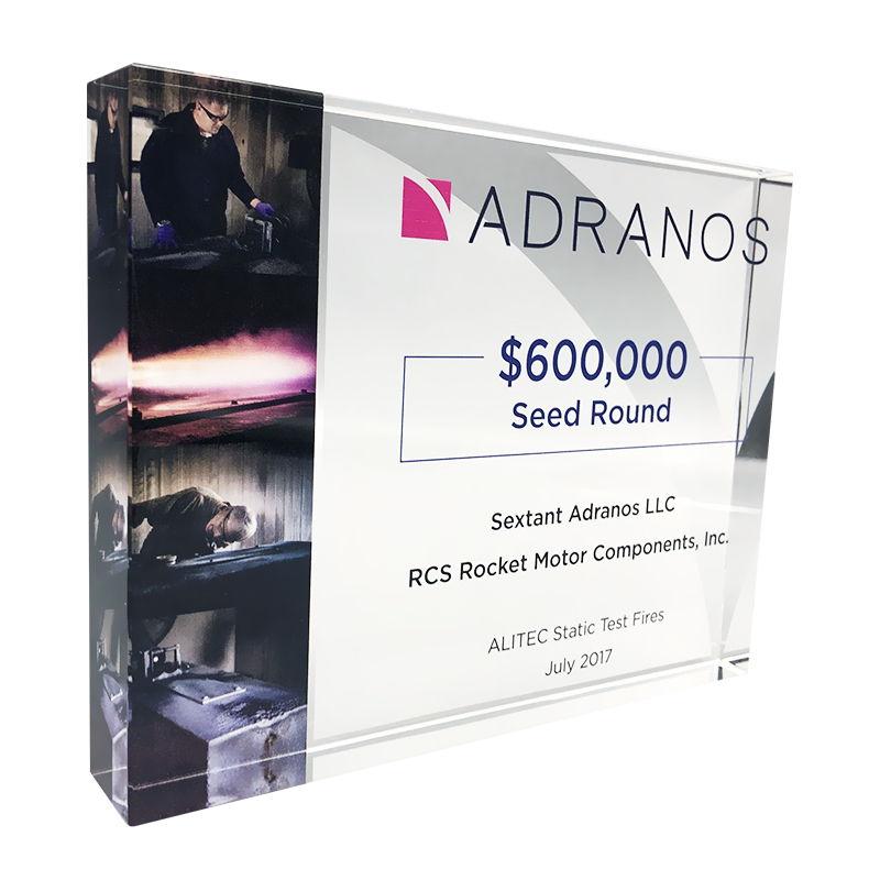 Seed Round Funding Custom Crystal